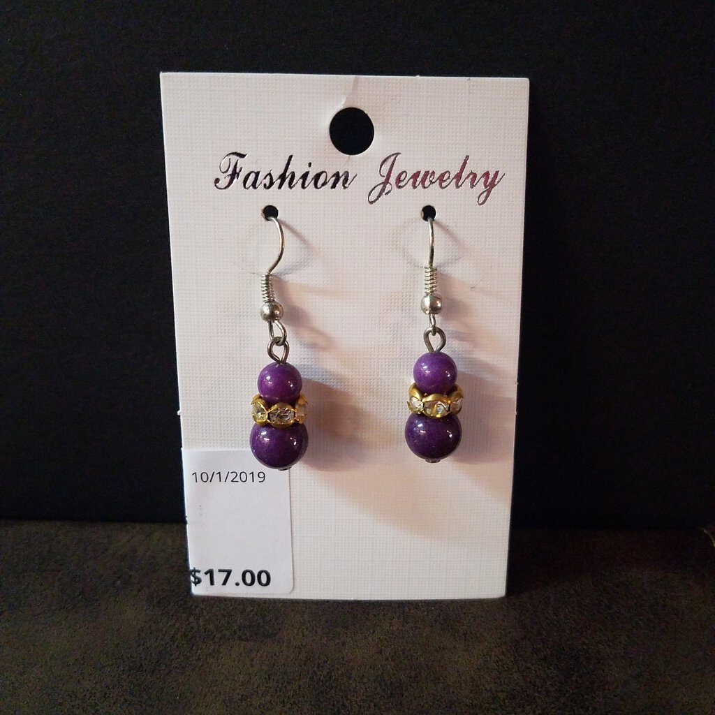 Double Bead Earrings
