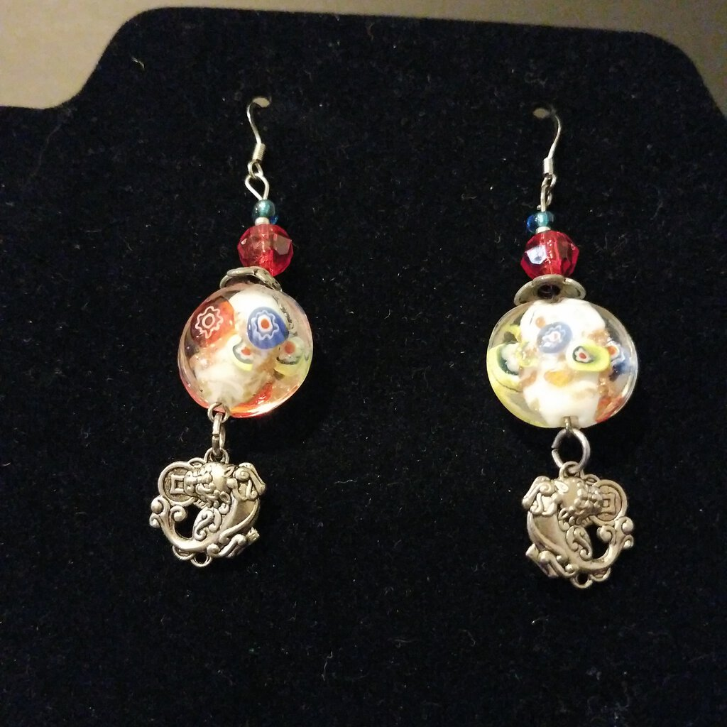 Dancing Dragons Earrings