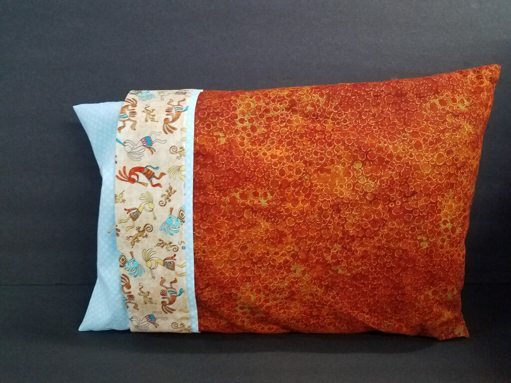 Style A -- Travel Pillows with Double Pillowcase Decor