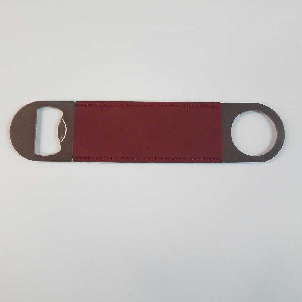 "Leatherette Bottle Opener ""Rose"""