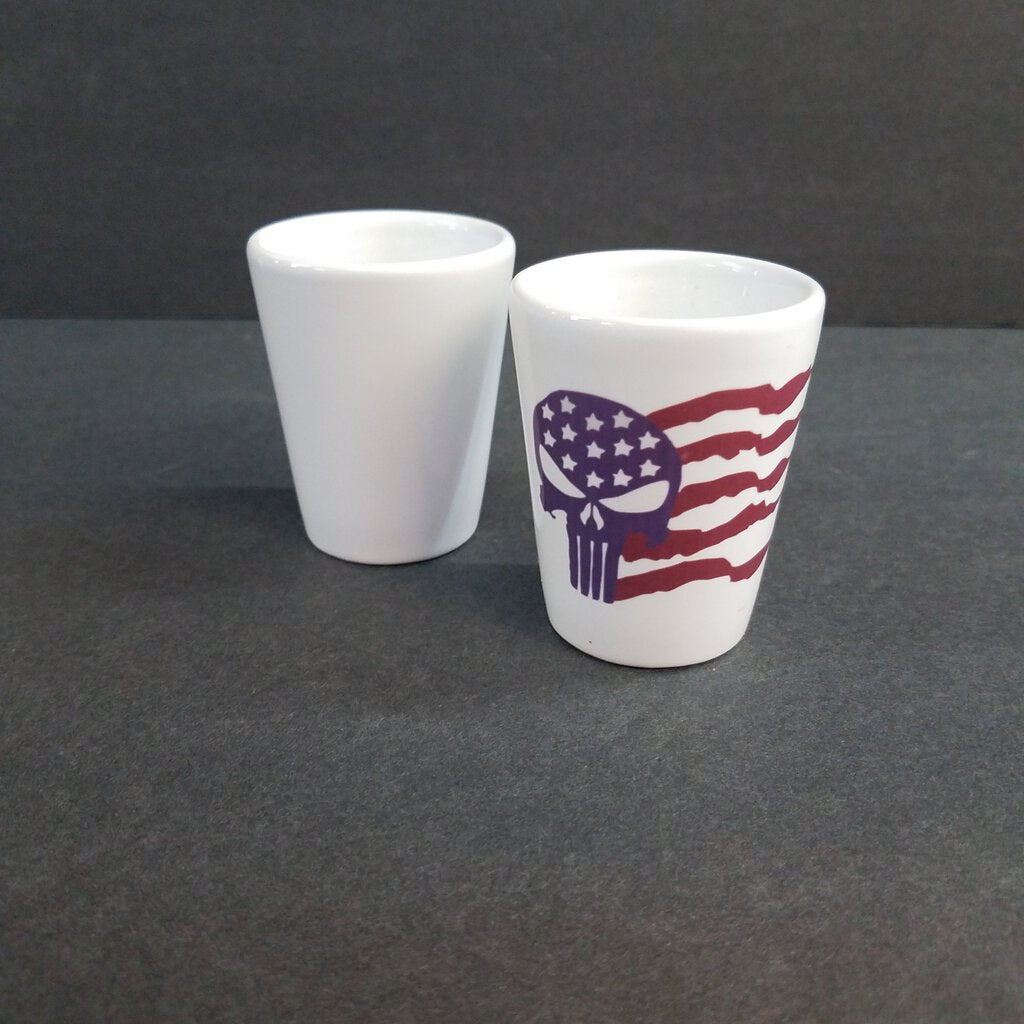 1 1/2 oz Ceramic Shot Glass