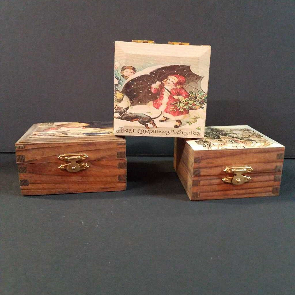 Handmade Jewelry/ Trinket Box