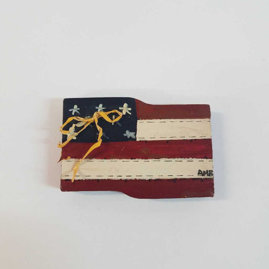 Mini American Flag Magnet
