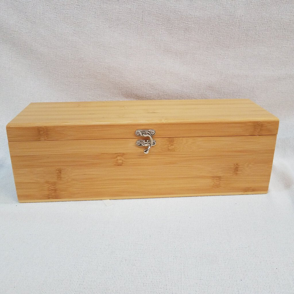 Bamboo Single Wine Box with Tools -- WBX31