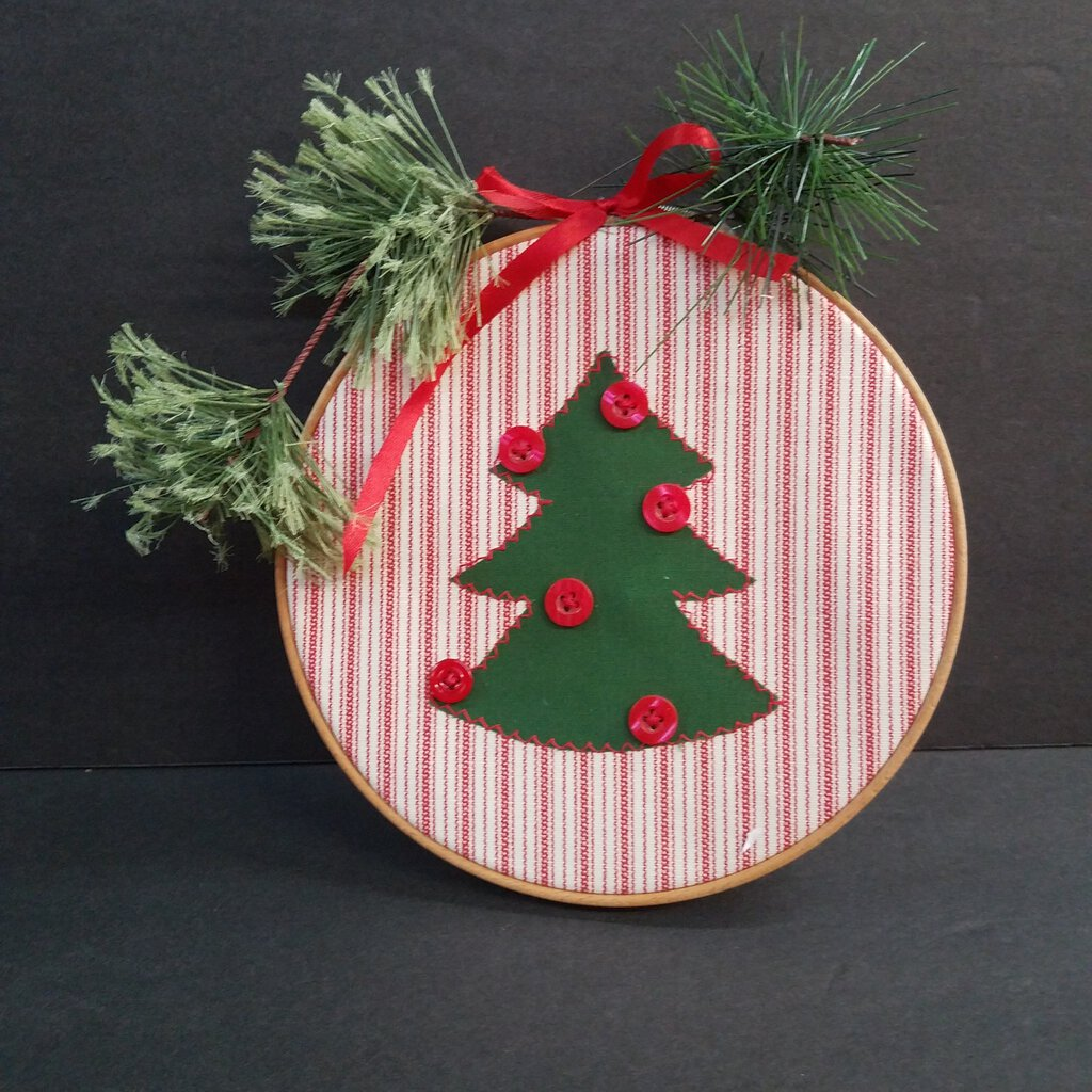 Christmas Tree Easel Decor