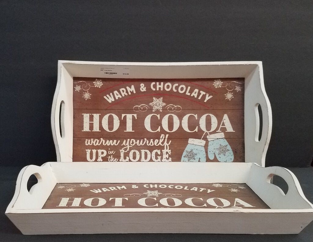Winter Themed Decorative Tray