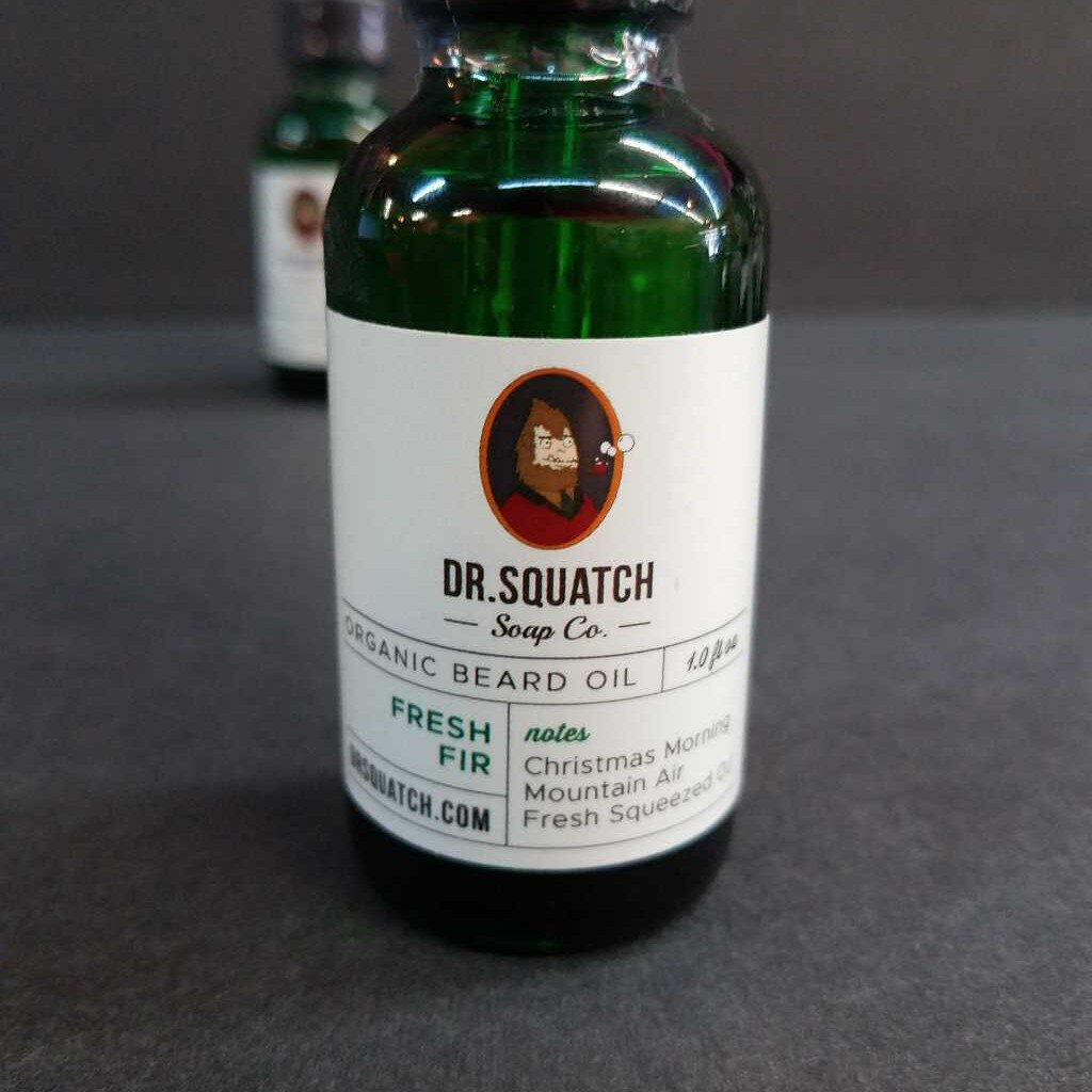 Fresh Fir Organic Beard Oil By Dr. Squatch