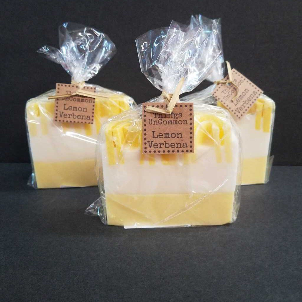 Lemon Verbena - Goat Milk Glycerin Soap by Things UnCommon