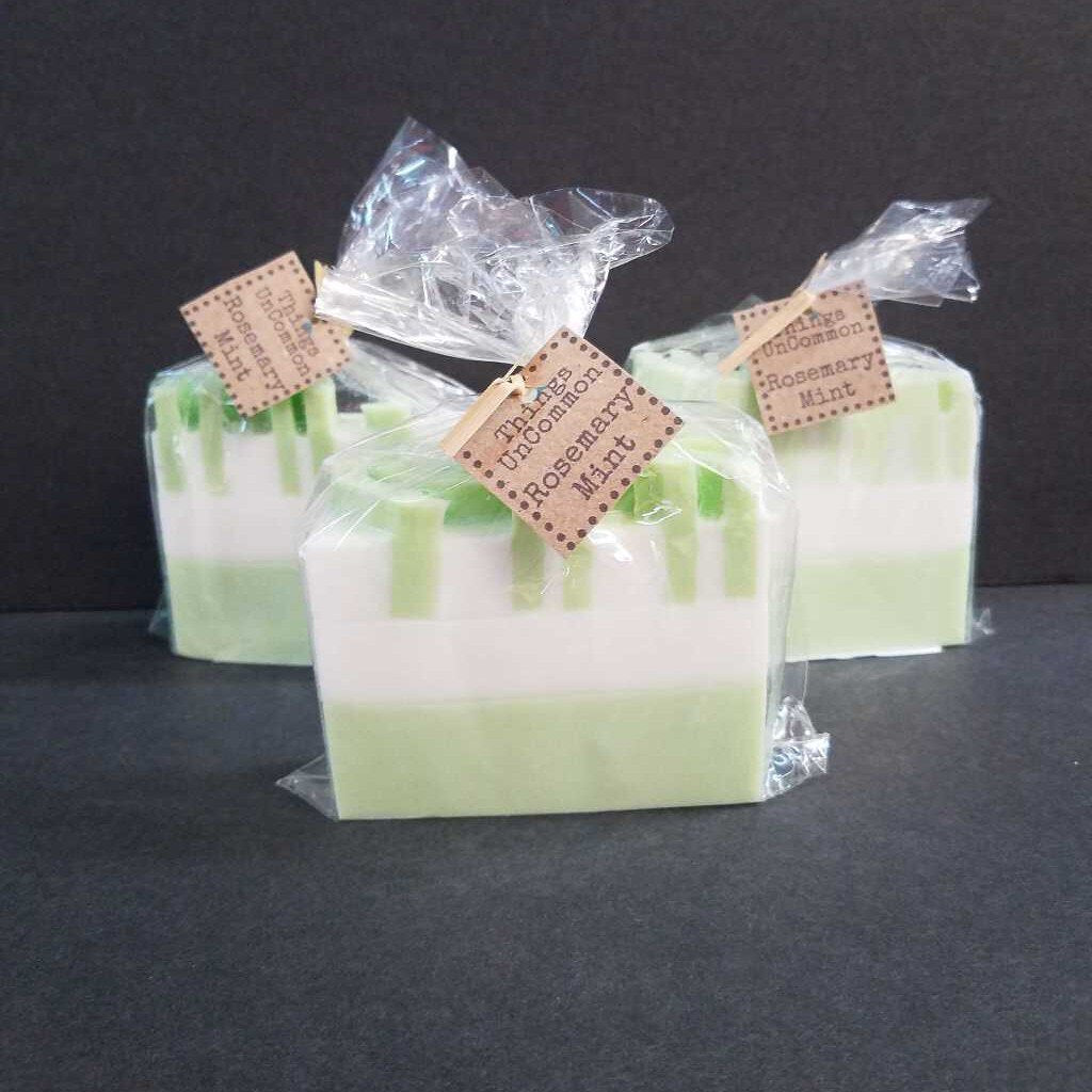Rosemary Mint - Goat Milk Glycerin Soap by Things UnCommon