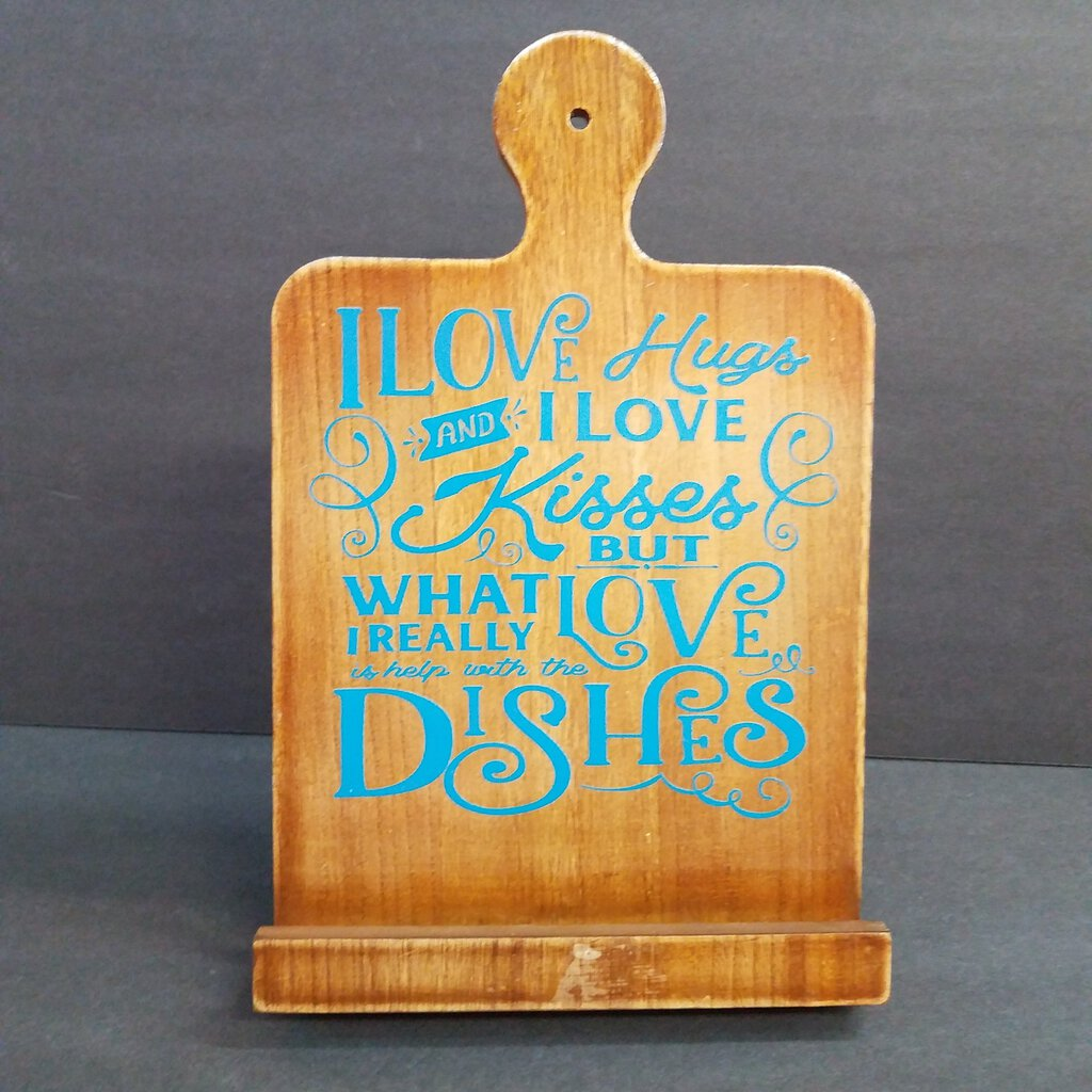 Wood Cooking Easel Quote