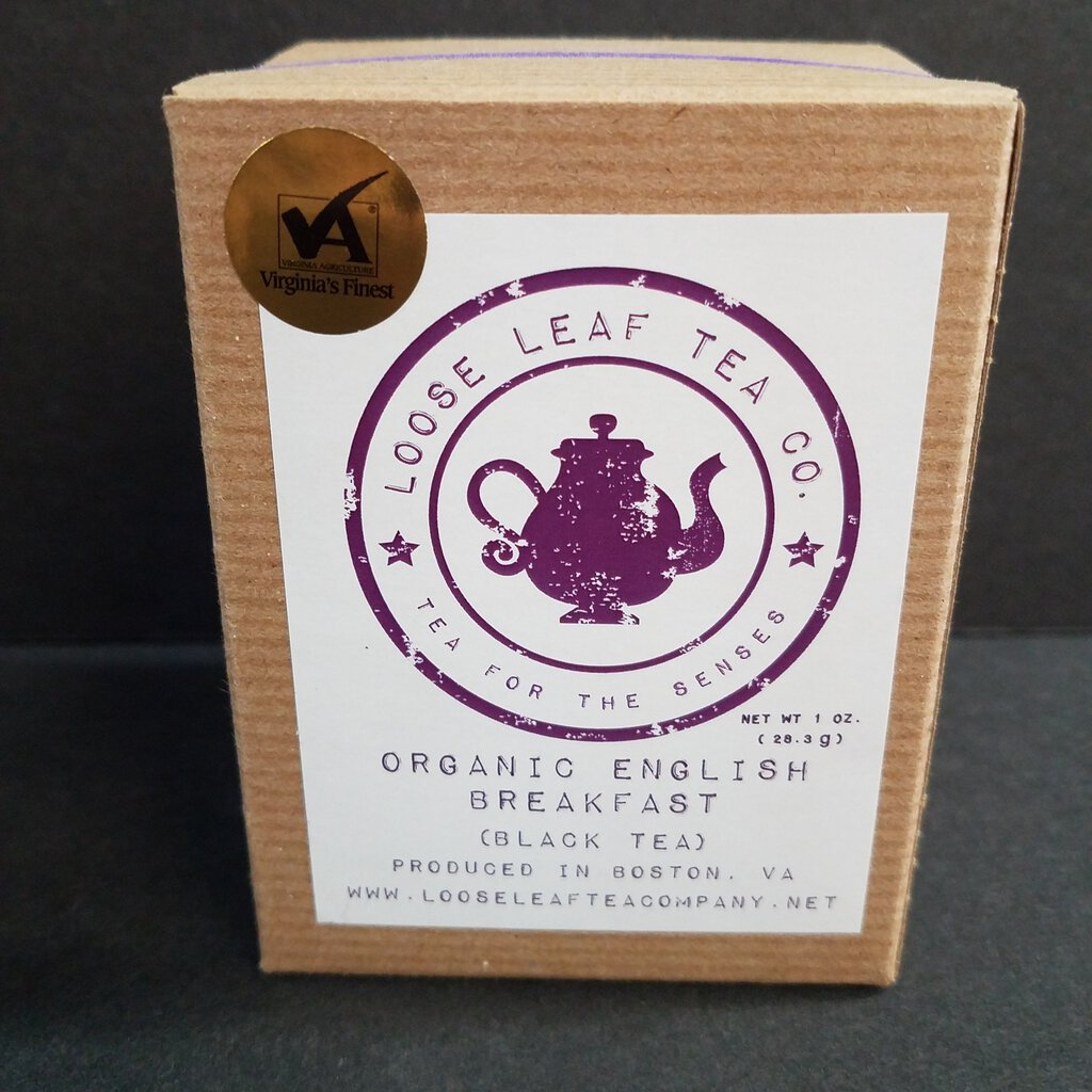 Loose Leaf Tea Co. Organic English Breakfast