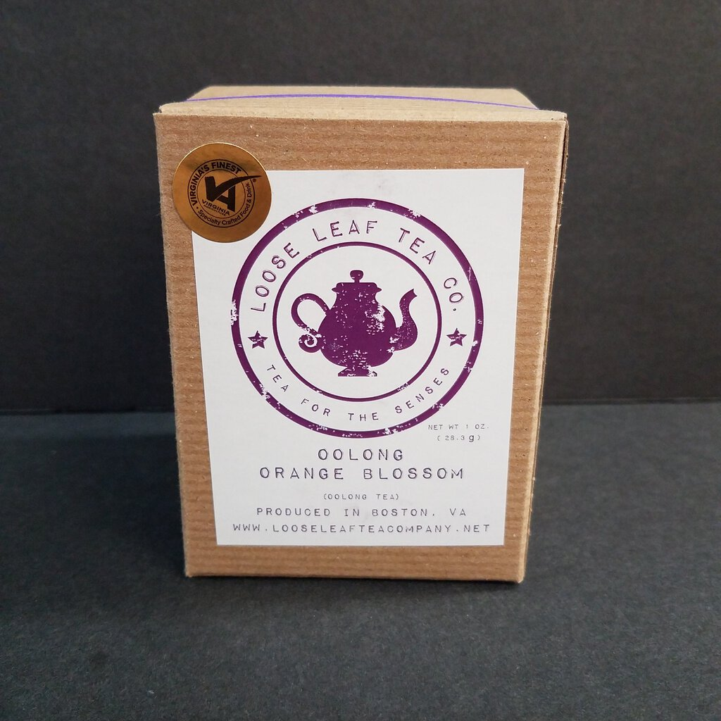 "Loose Leaf Tea Co. ""Oolong Orange Blossom"""