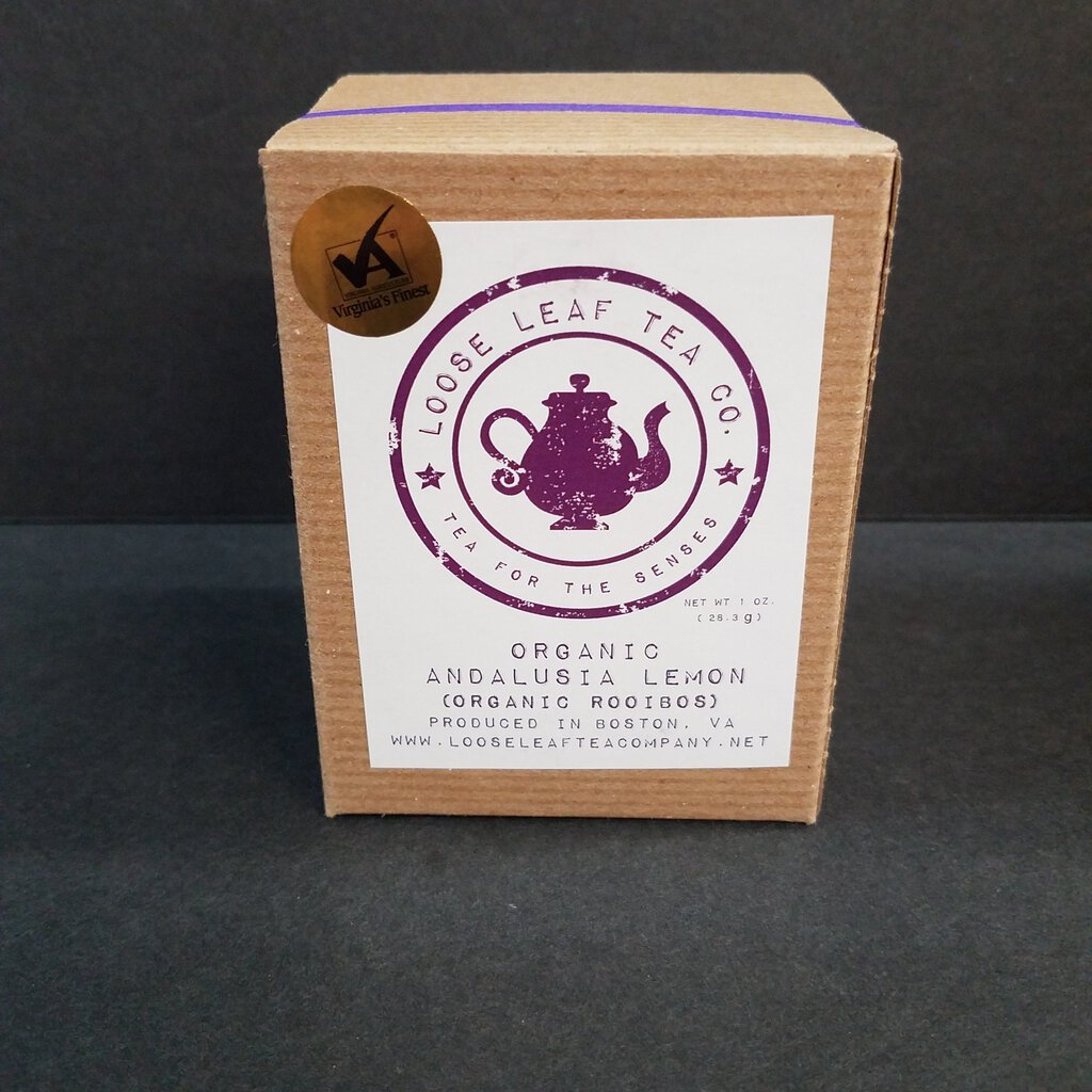 "Loose Leaf Tea Co. ""Organic Andalusia Lemon"""