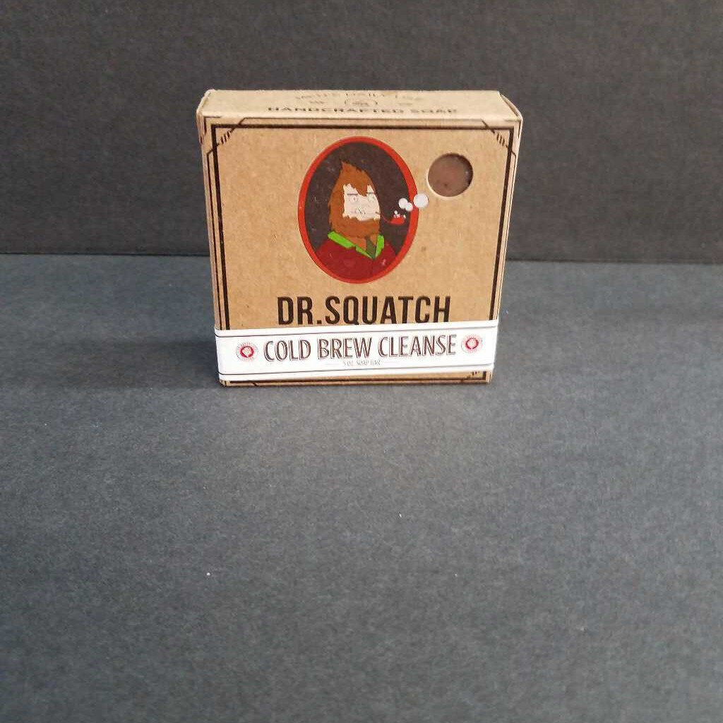Dr. Squatch Cold Brew Cleanse Bar Soap