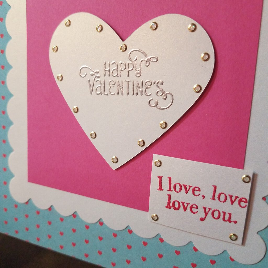 Happy Valtentine's, I love.love,love you Card