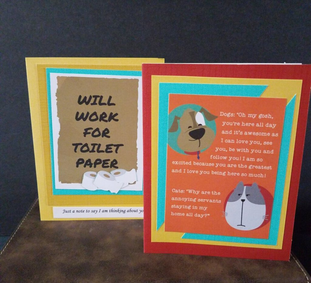 10 Pkg Assorted Covid Themed Cards