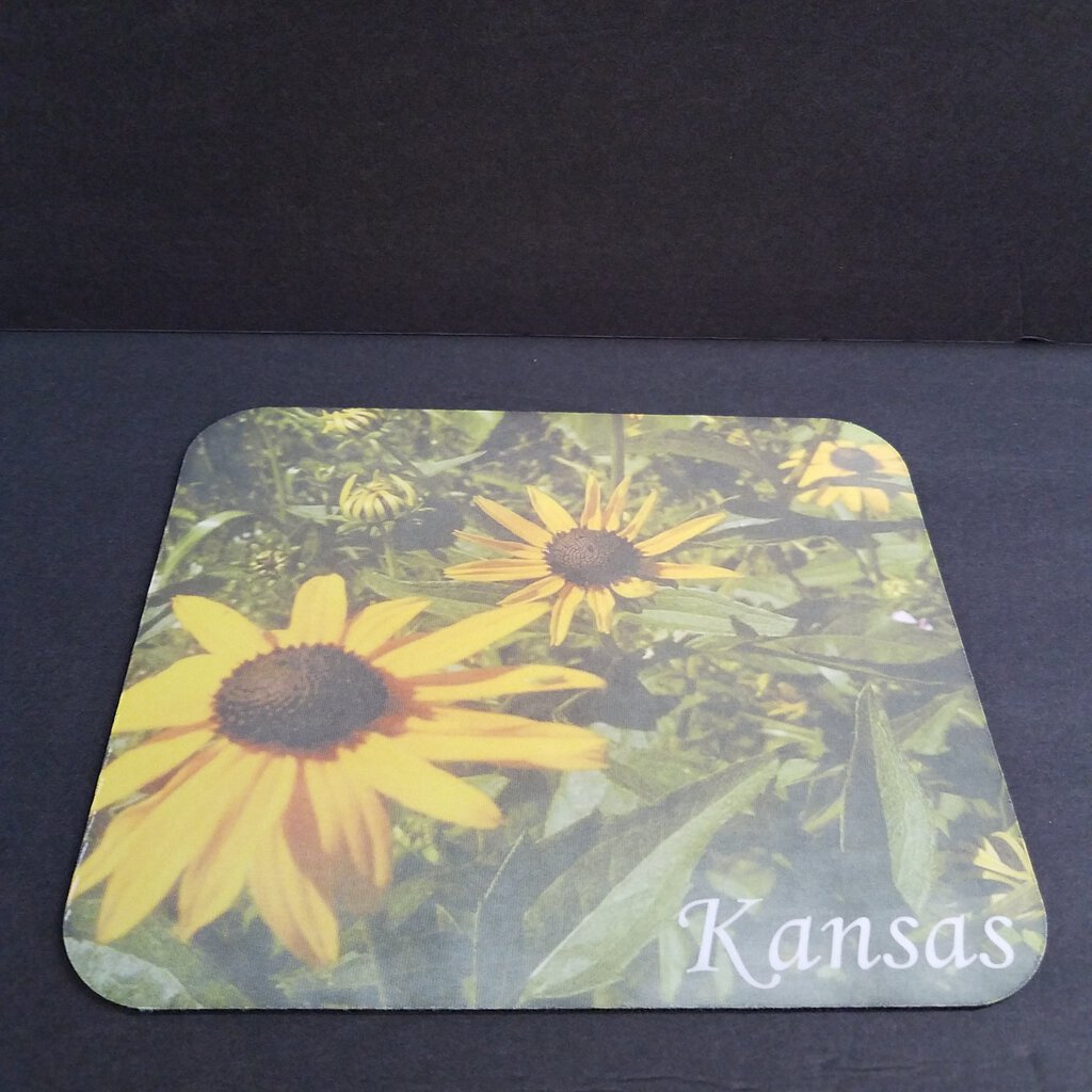 Sunflower Patch Kansas Mouse Pad