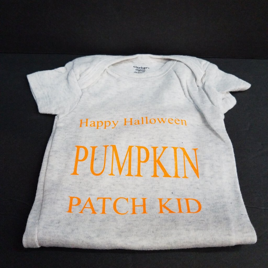 """Happy Halloween Pumpkin Patch Kid Onesie"