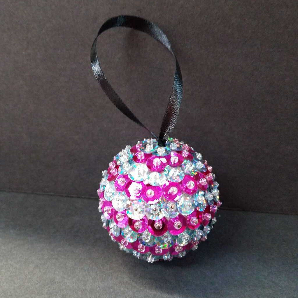 Sequin Ornament Ball