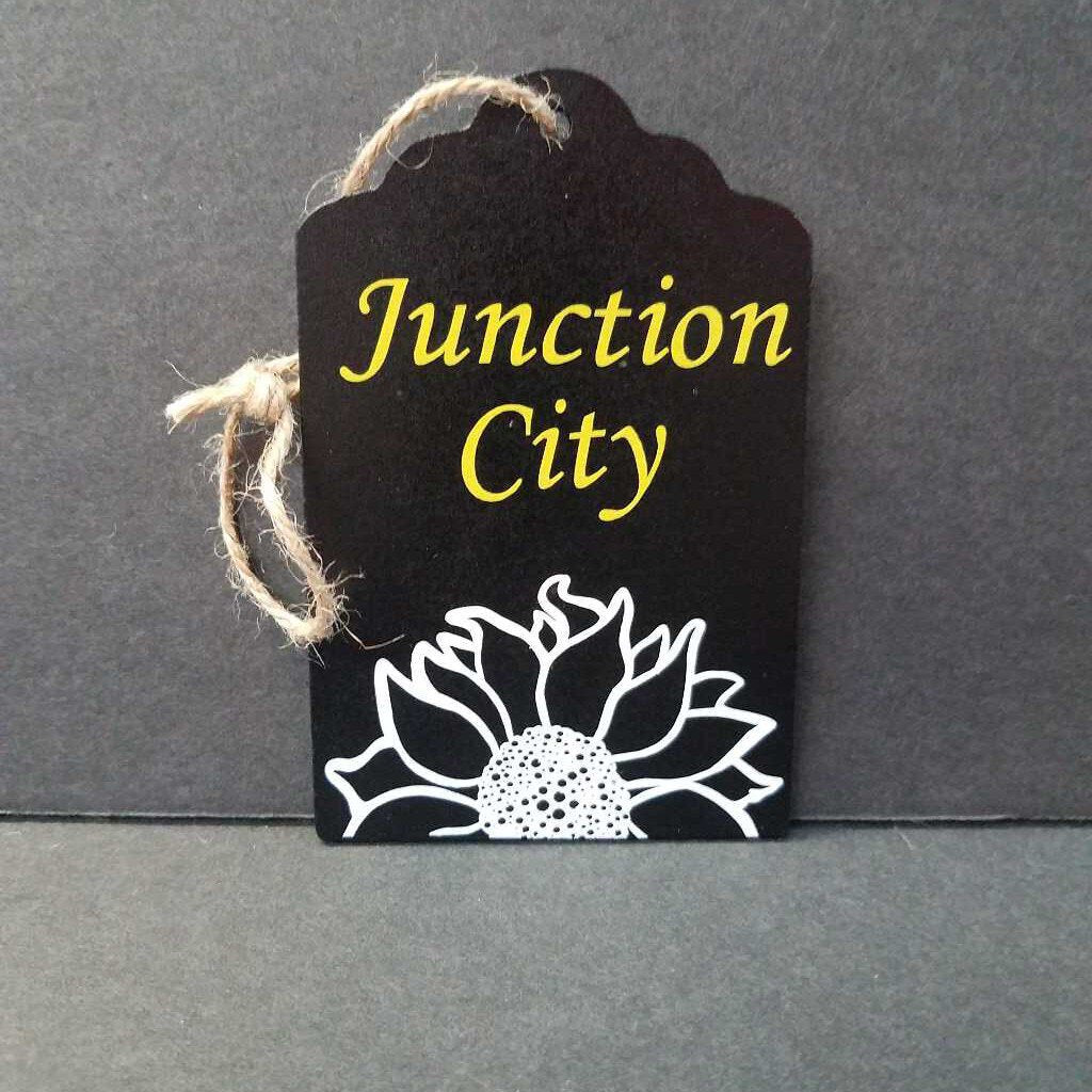 Black Tag/Ornament Junction City Kansas
