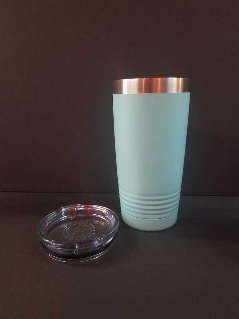 "20 oz. Polar Camel Tumbler with Lid ""Teal"""