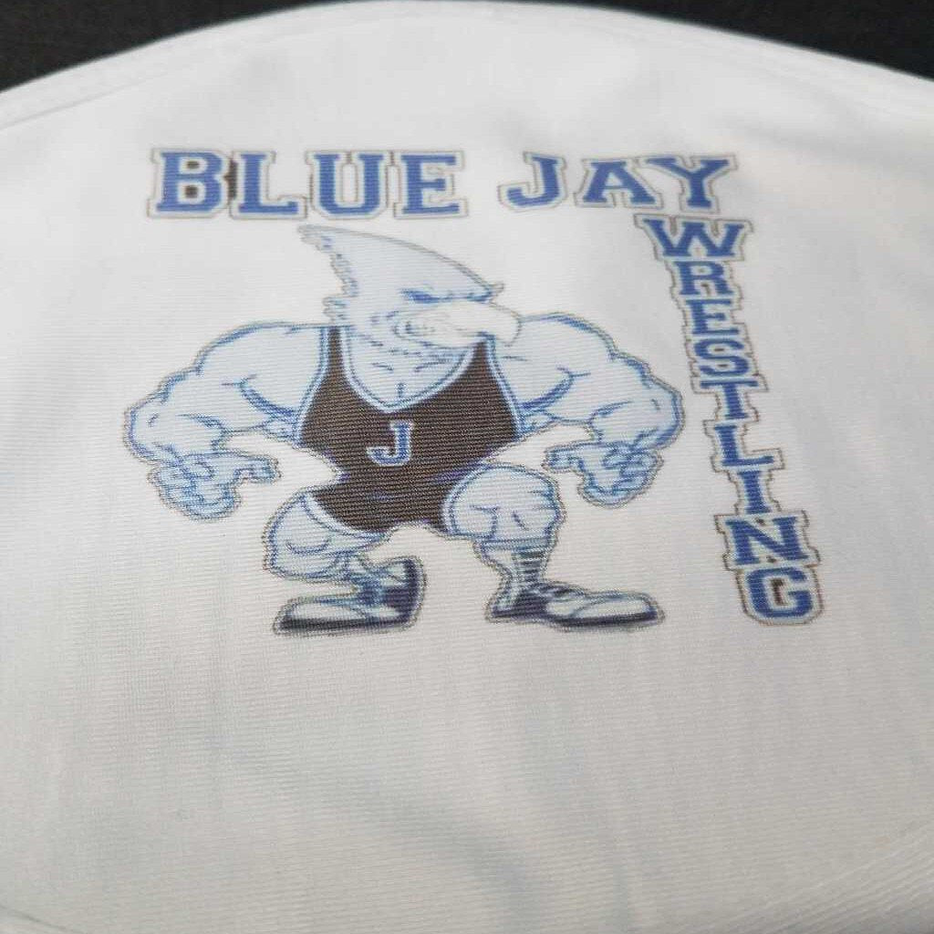 Junction City Blue Jays Wrestling Face Mask