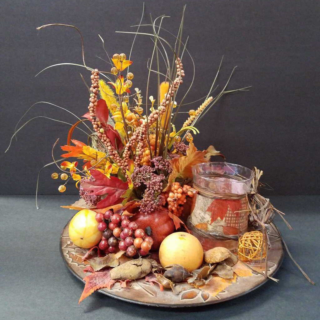 Fall Center Piece Decor