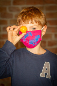 Kids kiwis face-mask
