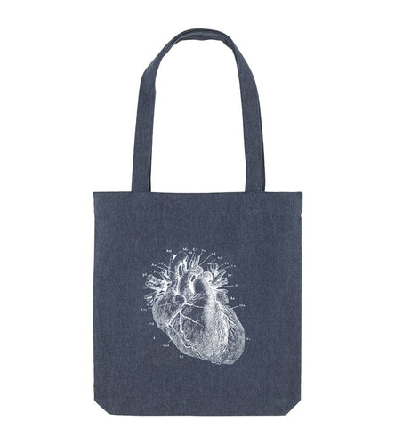 Heart tote-bag