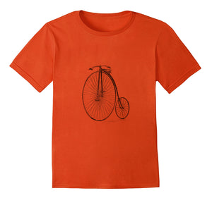 Penny-farthing/high-bike Tshirt