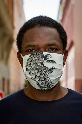 Pangolin face-mask