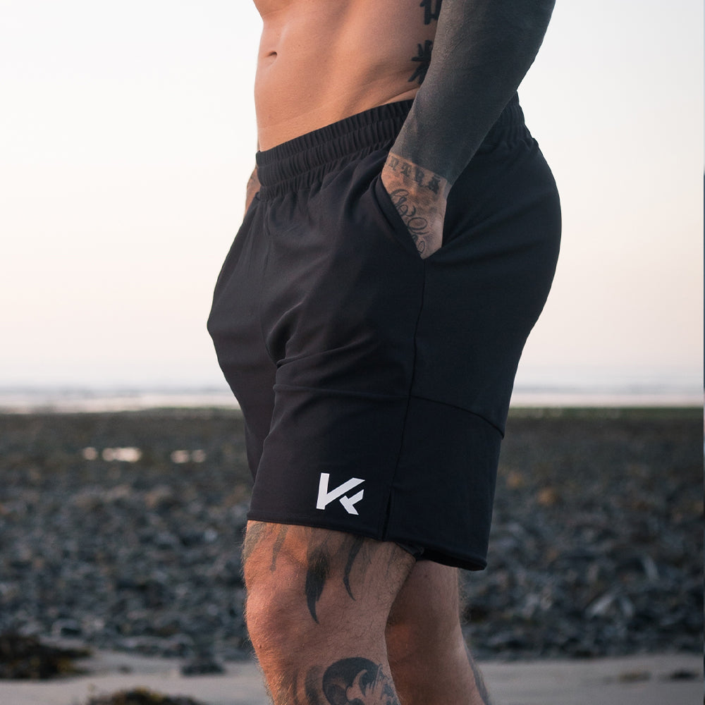 Koncept Fitwear Men's Voyager Shorts - Black