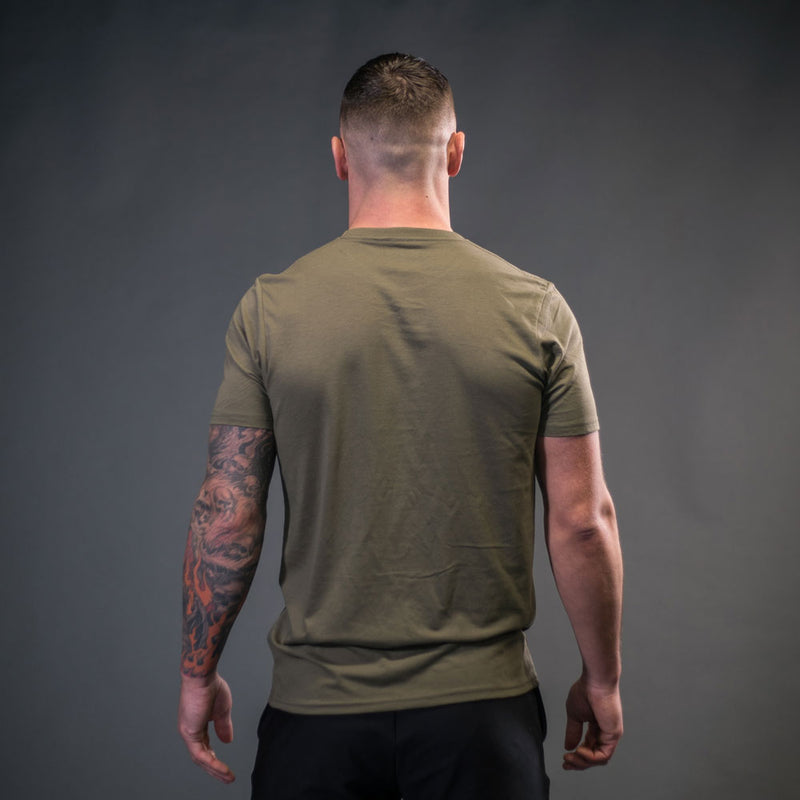 The Inertia T Khaki Green