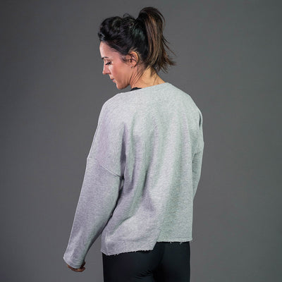 Oversized sweatshirt in grey