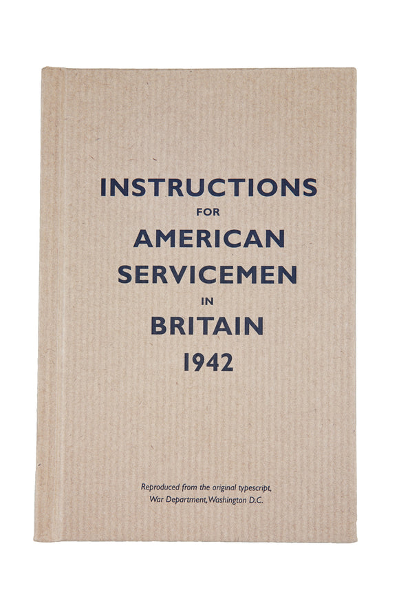 Instructions for American Servicemen in Britain
