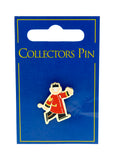 Cartoon Chelsea Pensioner Lapel Pin