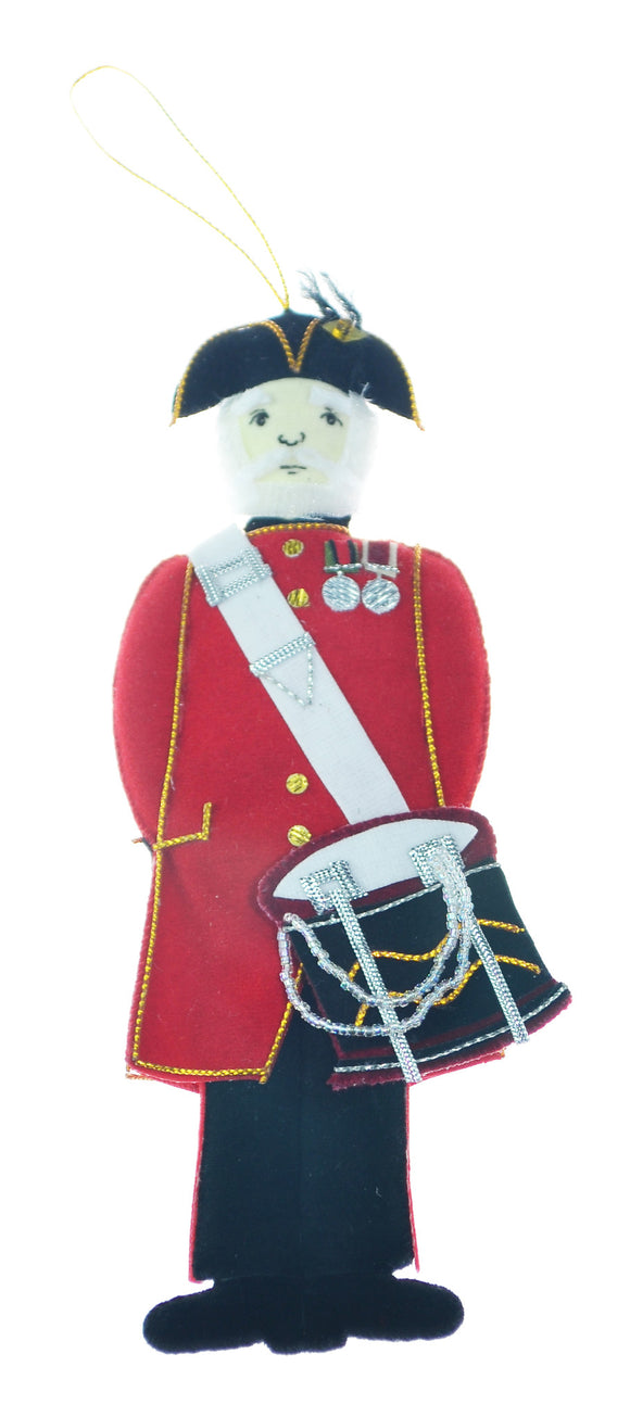 Chelsea Pensioner  Decoration  with Drum