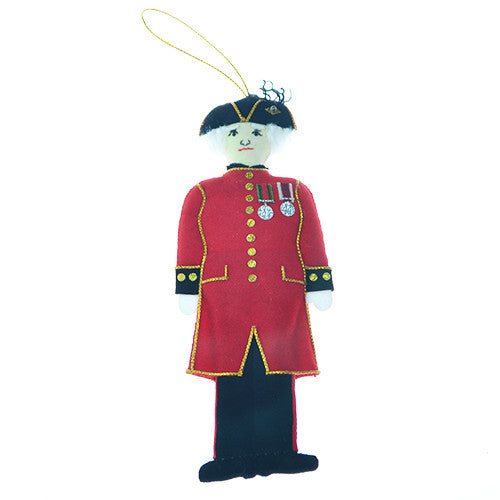 Female Chelsea Pensioner Hanging Decoration