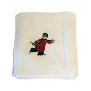 RHC Embroidered Cartoon Pensioner Face Cloth