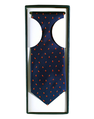 Mini cartoon silk tie