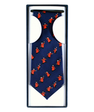 Silk 'Large Cartoon' Pensioner Tie