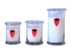 RHC Logo candles in a jar,pricing from £10