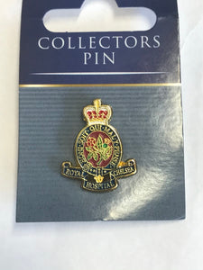 Royal Hospital Chelsea Crest Lapel Pin Badge