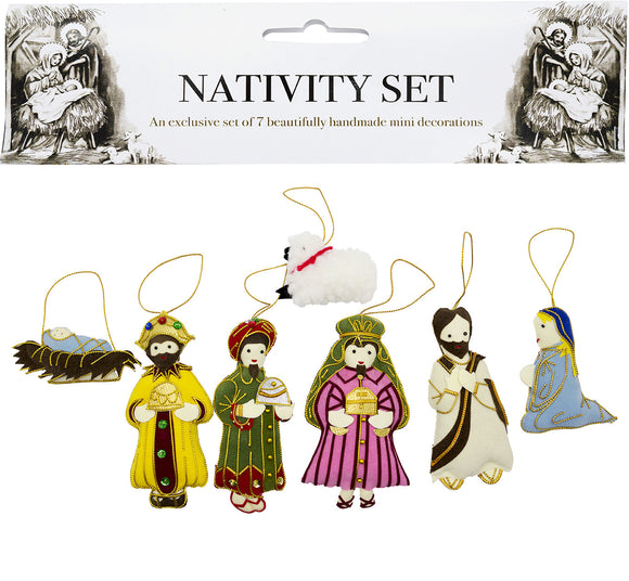 Nativity Set Tree Decoration