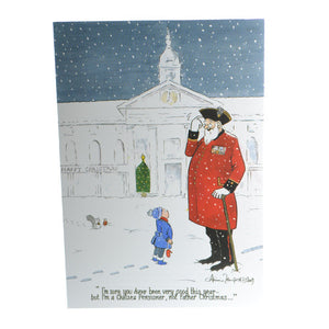 Not Santa Christmas Cards (10 pack)