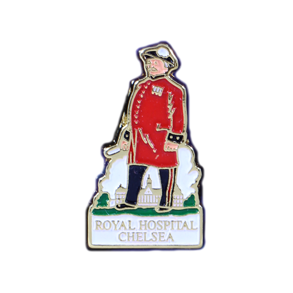 Chelsea Pensioner Lapel Pin Badge