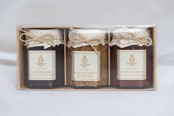 Trio Gift Set of Preserves