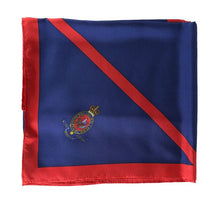 Load image into Gallery viewer, RHC Crest boxed silk square scarf