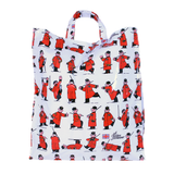Cartoon Pensioner Shopping Bag