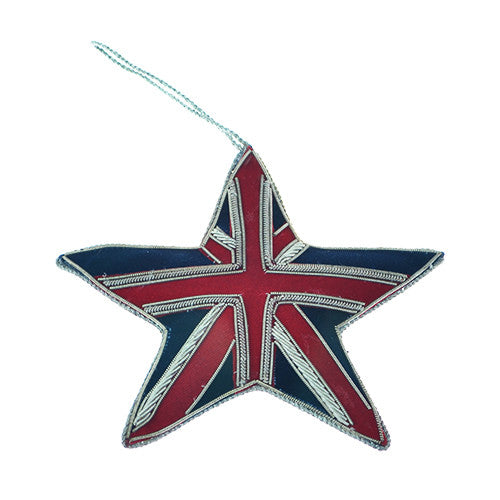 Union Jack Star Decoration